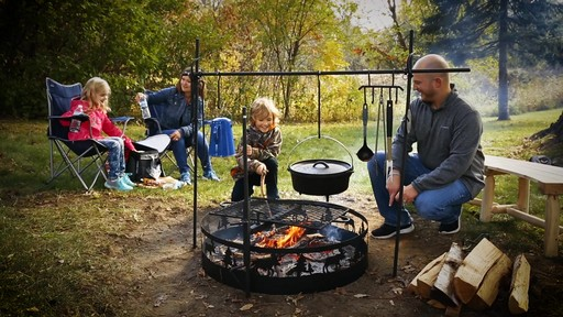 Guide Gear Campfire Cooking Equipment Set - image 1 from the video