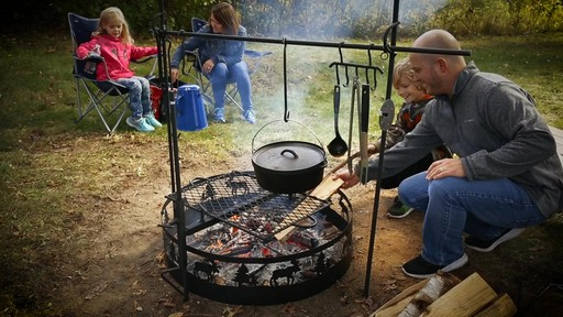 Guide Gear Campfire Cooking Equipment Set - image 10 from the video