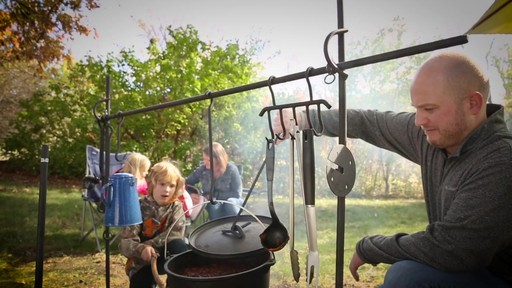 Guide Gear Campfire Cooking Equipment Set - image 4 from the video