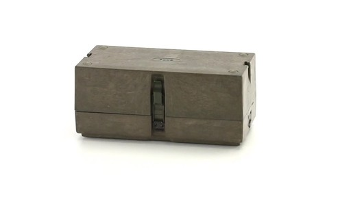 German Military Surplus Field Phone Used 360 View - image 10 from the video