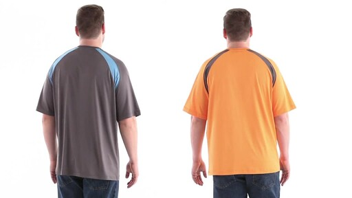 Guide Gear Men's Performance Fishing Short Sleeve T-Shirt 360 View - image 5 from the video