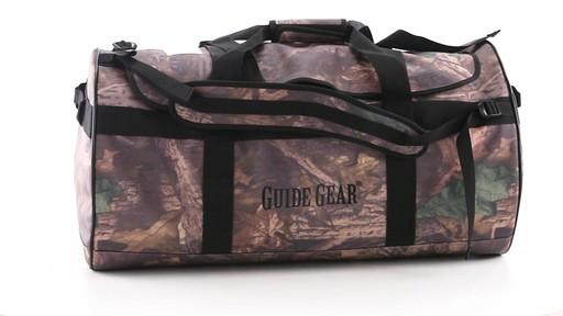 Guide Gear Waterproof Duffel Bag 90 Liters 360 View - image 10 from the video