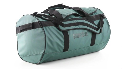 Guide Gear Waterproof Duffel Bag 90 Liters 360 View - image 2 from the video