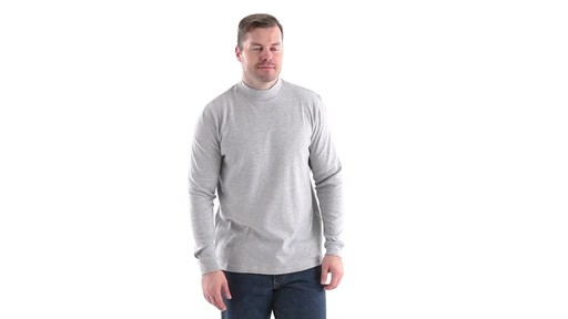 Guide Gear Men's Mock Turtleneck Long-Sleeve Shirt 360 View - image 1 from the video