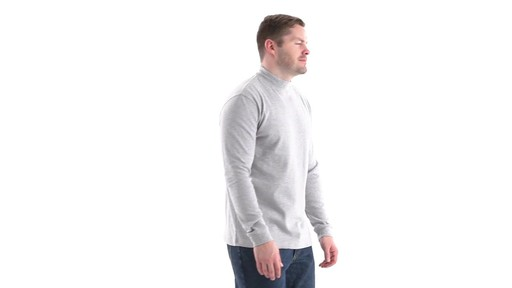 Guide Gear Men's Mock Turtleneck Long-Sleeve Shirt 360 View - image 2 from the video