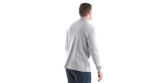 Guide Gear Men's Mock Turtleneck Long-Sleeve Shirt 360 View - image 3 from the video