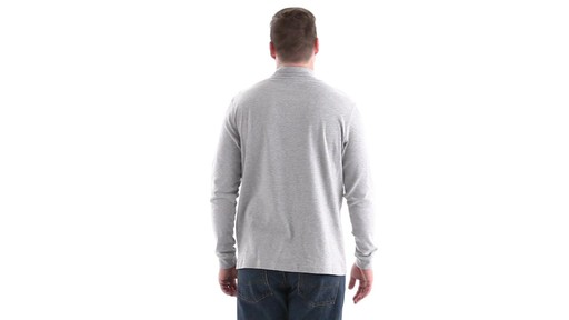 Guide Gear Men's Mock Turtleneck Long-Sleeve Shirt 360 View - image 4 from the video