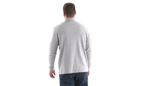 Guide Gear Men's Mock Turtleneck Long-Sleeve Shirt 360 View - image 5 from the video