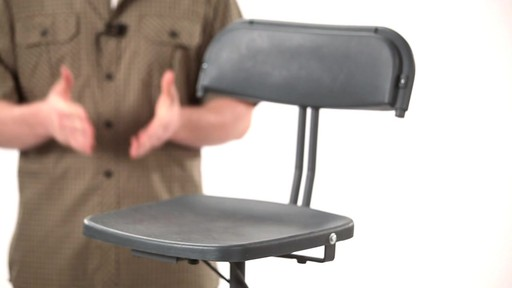 Guide Gear 360 Degree Swivel Blind Hunting Chair 300 lb. Capacity - image 1 from the video
