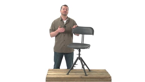 Guide Gear 360 Degree Swivel Blind Hunting Chair 300 lb. Capacity - image 3 from the video