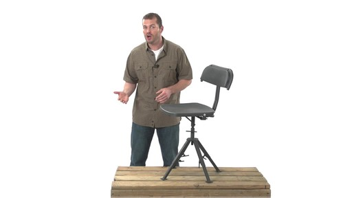 Guide Gear 360 Degree Swivel Blind Hunting Chair 300 lb. Capacity - image 4 from the video