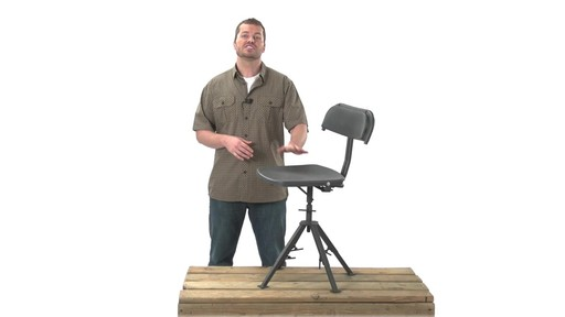 Guide Gear 360 Degree Swivel Blind Hunting Chair 300 lb. Capacity - image 6 from the video