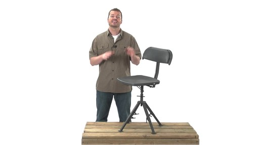 Guide Gear 360 Degree Swivel Blind Hunting Chair 300 lb. Capacity - image 7 from the video
