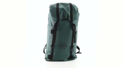 Guide Gear Waterproof Dry Bag Backpack 360 View - image 1 from the video
