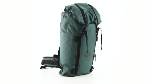 Guide Gear Waterproof Dry Bag Backpack 360 View - image 2 from the video