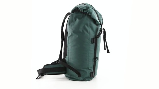 Guide Gear Waterproof Dry Bag Backpack 360 View - image 3 from the video
