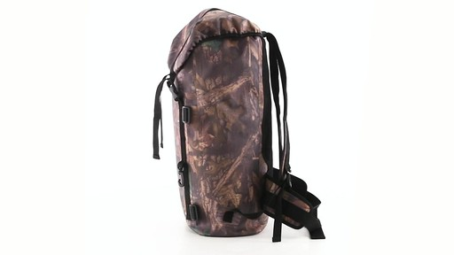 Guide Gear Waterproof Dry Bag Backpack 360 View - image 8 from the video