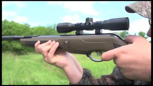 Bone Collector™ Bull Whisper™ .177 cal. Air Rifle with 4x32mm Scope (Refurbished) - image 4 from the video