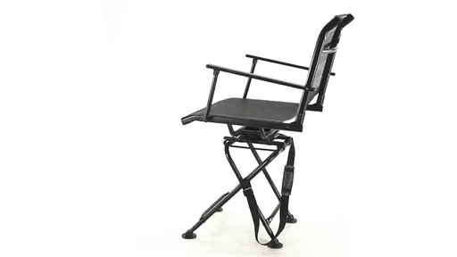 360 BIG BOY COMFORT SWIVEL BLIND CHAIR 360 View - image 2 from the video