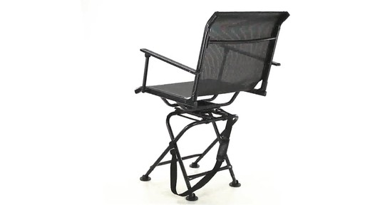 360 BIG BOY COMFORT SWIVEL BLIND CHAIR 360 View - image 3 from the video