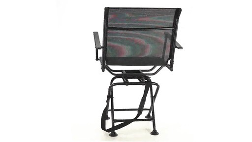 360 BIG BOY COMFORT SWIVEL BLIND CHAIR 360 View - image 4 from the video