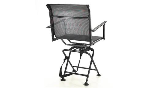 360 BIG BOY COMFORT SWIVEL BLIND CHAIR 360 View - image 5 from the video