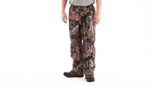 Guide Gear Camo Rain Pants 360 View - image 10 from the video
