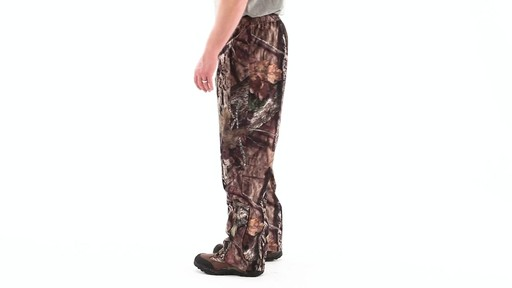 Guide Gear Camo Rain Pants 360 View - image 8 from the video