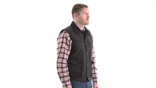 Guide Gear Men's Drover Vest 360 View - image 2 from the video