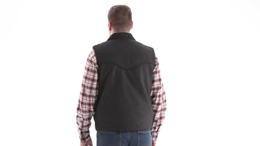 Guide Gear Men's Drover Vest 360 View - image 4 from the video