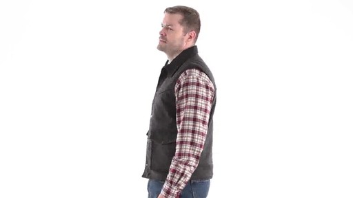 Guide Gear Men's Drover Vest 360 View - image 6 from the video