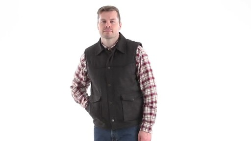 Guide Gear Men's Drover Vest 360 View - image 7 from the video