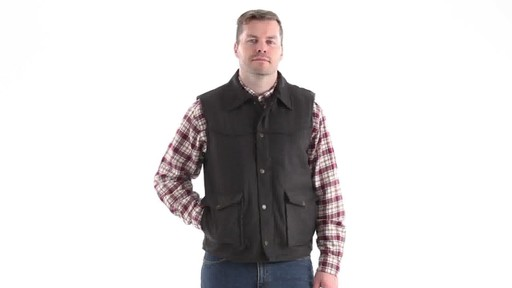 Guide Gear Men's Drover Vest 360 View - image 8 from the video