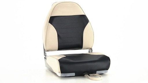 Guide Gear High-Back Folding Boat Seat 360 View - image 1 from the video
