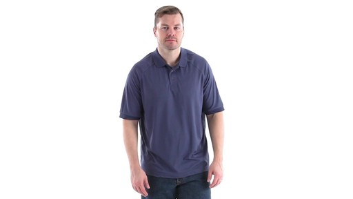Guide Gear Men's Performance Short Sleeve Polo Shirt 360 View - image 1 from the video