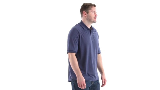 Guide Gear Men's Performance Short Sleeve Polo Shirt 360 View - image 2 from the video