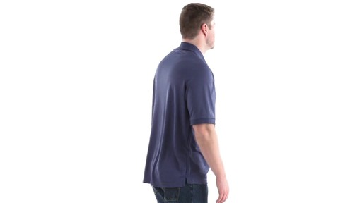 Guide Gear Men's Performance Short Sleeve Polo Shirt 360 View - image 3 from the video