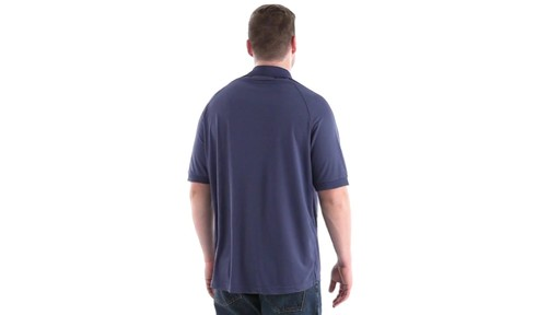 Guide Gear Men's Performance Short Sleeve Polo Shirt 360 View - image 4 from the video