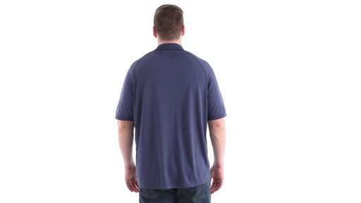 Guide Gear Men's Performance Short Sleeve Polo Shirt 360 View - image 5 from the video