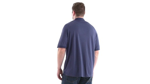 Guide Gear Men's Performance Short Sleeve Polo Shirt 360 View - image 6 from the video