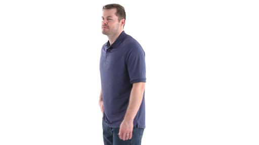 Guide Gear Men's Performance Short Sleeve Polo Shirt 360 View - image 8 from the video