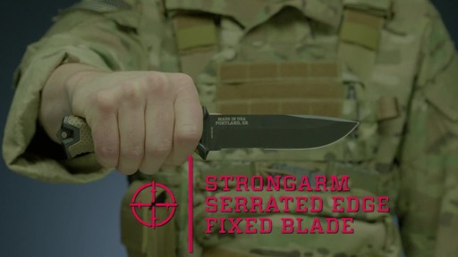 Gerber Strongarm Fixed Blade Knife - image 1 from the video