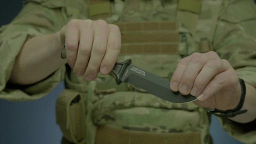 Gerber Strongarm Fixed Blade Knife - image 3 from the video