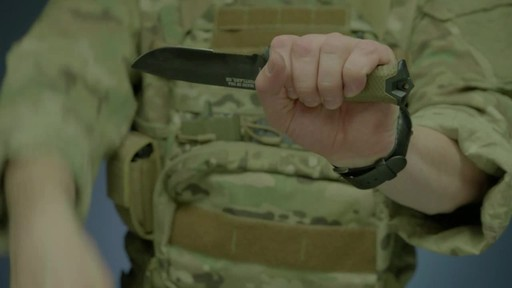 Gerber Strongarm Fixed Blade Knife - image 6 from the video