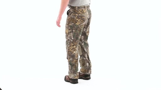 Guide Gear Men's Camo Ripstop Hunting Pants 360 View - image 5 from the video