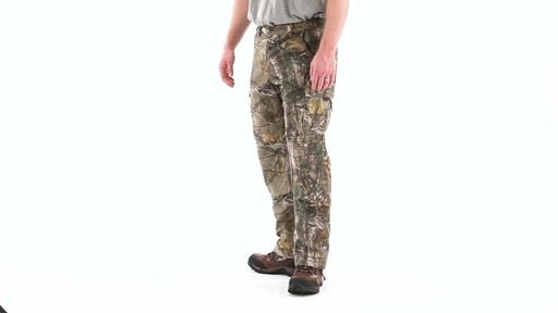 Guide Gear Men's Camo Ripstop Hunting Pants 360 View - image 6 from the video