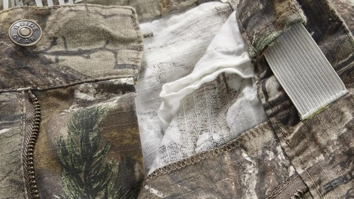 Guide Gear Men's Camo Ripstop Hunting Pants 360 View - image 9 from the video