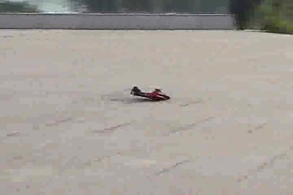 Radio - controlled Hydro - fly Boat / Plane - image 1 from the video