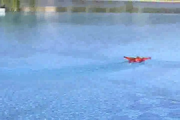Radio - controlled Hydro - fly Boat / Plane - image 2 from the video