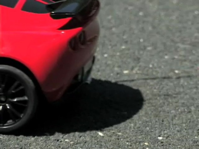 Radio - controlled 15 - mph Lotus Car - image 7 from the video